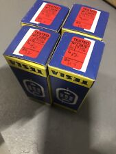 Tesla E34L Electronic Valve Vacuum Tubes X 4 New Old Stock.