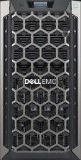 Dell PowerEdge T340 Server 64GB RAM 2TB 2x1TB RAID 3.3GHz Xeon QC E-2124 NEW