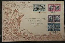 1938 Pretoria South Africa First Day Souvenir Cover FDC Voortrekker Monument