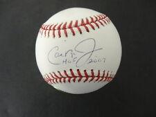 Cal Ripken Jr. (HOF 2007) Signed Baseball Autograph Auto Ironclad *3634