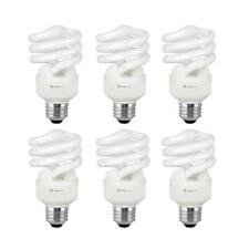 Compact Fluorescent Light Bulb T2 Spiral CFL, 4100k Cool White, 13W (60 Watt...