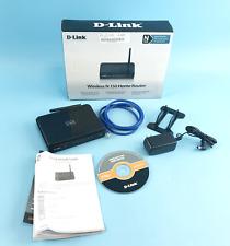 D-Link N150 Home Wireless Router Dir-601 in Box #U2517