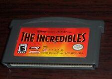 Nintendo GBA. Disney Pixar The Incredibles. AGB-BICE-USA