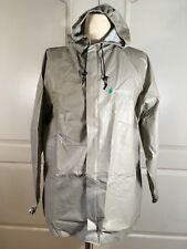 Frog Frogg Toggs Mens Size Medium Large Rain Gear Wear Jacket Khaki
