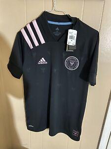 Adidas Inter Miami CF Away Black Jersey Men's EH8637 Size Medium Aeroready New