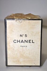 VINTAGE Rare CHANEL No 5 PERFUME Paris France 1/4 oz. 7 ml. T.T.P.M. Extrait