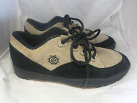 Reef Brazil Flux Lace Up Shoes Sand/Black UK 6 EU 39 rrp £60 JS17 87 SALEx