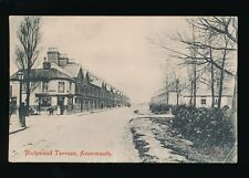 Gloucestershire Glos AVONMOUTH Richmond Terrace corner store used c1900s? PPC
