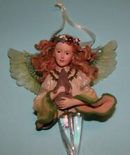 "Boyds Bears, Angel ornament ""Floramella Guardian of Nature"" #25102 Nib 2001"