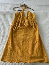 Nordstrom Moon River Yellow Dress, Size Large