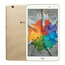 Lg G Pad X 8.0 Android Tablet, V521, Gold, Wi-Fi + T-Mobile For Parts