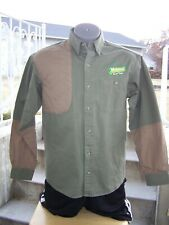 RedHead Olive/Tan Shooting Shirt Men Size Medium Michelinas Texas Right Hand