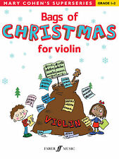 Bags Of Christmas for Violin Instrumental Solo Beginner SONGS FABER Music BOOK