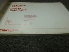 clark ec70 hwp465 hpw60 pf100 eck20 forklift electrical wiring diagram  manual