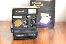 POLAROID SuperColor  SE 670 AF LAND Instant Film w/ Original Packaging  - Tested