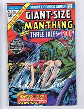Giant-Size Man-Thing  #5 Marvel 1975