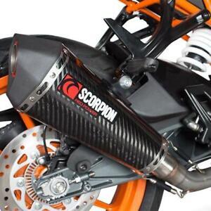 KTM RC 125 4T 13 14 15 16 NEW SCORPION SERKET GP COMPLETE CARBON EXHAUST