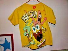 Spongebob Childrens T Shirt Size 7 Vintage 2008 Nickleodean