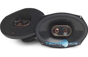"Infinity REF9633ix 600W Max 200W RMS 6"" x 9"" Reference Series 3-Way Speakers NEW"