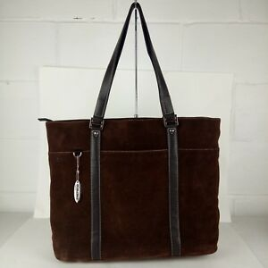 Mobile Edge Laptop Tote Bag Suede Brown Special Edition