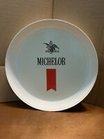 """Vintage Anheuser-Busch Michelob Beer 13"""" Plastic Serving Tray"""