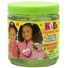 Africa's Best Kids Originals Soft Hold Olive Oil Smoothing and Styling Gel 15oz