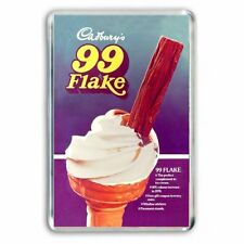 RETRO - HAVE A CADBURY'S FLAKE 99 ICE CREAM  ADVERT JUMBO COLOUR Fridge Magnet