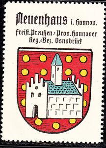 85) Kaffee Hag 1925 Neuenhaus Hannover Osnabrück Preußen Reklamemarke Wappen