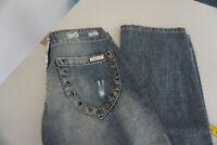 DECON Pretty Damen Jeans Hose 25/32 W25 L32 used blau NEU #84