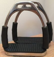 New Stirrups Iron Steel Flexi Safety Bendy Horse Riding Equestrian. Code SS...'