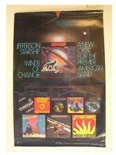 Jefferson Starship Poster Old Voyages Airplane The