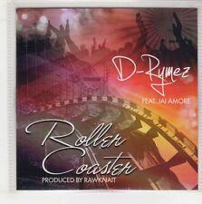 (GQ422) D-Rymez ft Jai Amore, Roller Coaster - DJ CD