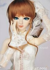 NTDoll Crystal female super dollfie 61CM BJD SD 1/3 girl FREE EYES and FUR WIG