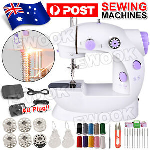 33x Electric Mini Multi-Function Portable Hand Held Desktop Home Sewing Machine