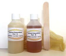 Fastcast Polyurethane Resin 200g fast cast liquid plastic low odour