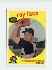 Roy Face - Pittsburgh Pirates 2002 Topps Archives 59' Topps Reprint