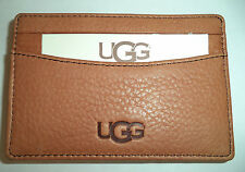 Ugg Australia Leather Money Clip, Chestnut