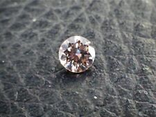 0.16 CT Round Fancy Orangy Pink SI2 Loose Diamond! IGI