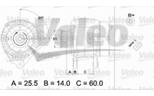 VALEO Alternador para SEAT IBIZA LEON CORDOBA VW GOLF PASSAT AUDI A4 437404
