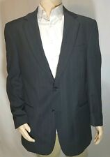 JOS A BANK Dark 100% Wool 2 Button Sport Coat Blazer 42L