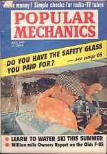 Popular Mechanics Magazine July 1961 Do You Have Safety Glass VG 060616DBE