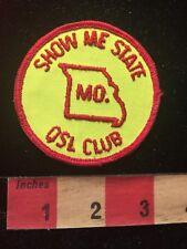 Vintage MISSOURI SHOW ME STATE QSL CLUB Amateur Radio Patch 81D2
