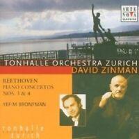 DAVID ZINMAN - KLAVIERKONZERTE 3 & 4  CD NEW