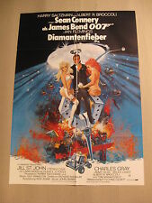 JAMES BOND 007 - DIAMANTENFIEBER - Poster Plakat - SEAN CONNERY (#3)