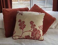 Laura Ashley Marciana in Cranberry Cushion Set