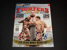 Fighters Only Magazine Feb 2014 MMA/ UFC Lesner Rousey Jones CM Punk Hardy
