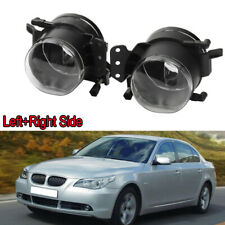 Pair For BMW 04-07 M3 E60 E90 E63 E46 E83 Front Fog Light Lamp Clear House Cover