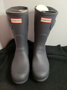 Hunter Boots Dark Slate Size 9 Or 40/41