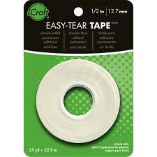 "#3375 Therm-o-web iCraft Easy-Tear Double Sided Tape 0.5""x27 yds 000943033752"