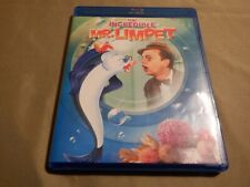 THE INCREDIBLE MR. LIMPET (BLU-RAY) Don Knotts - Like New